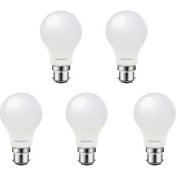 Wessex Electrical Wessex A60 GLS Dimmable Bulb 9W BC Cool White 806lm - 36231 - from Toolstation