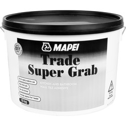 Mapei Mapei Trade Super Grab Tile Adhesive 15kg Off White - 36270 - from Toolstation