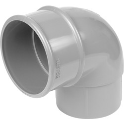 Aquaflow 68mm Offset Bend 92.5° Grey - 36288 - from Toolstation
