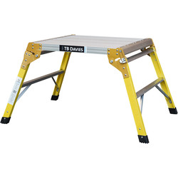 TB Davies TB Davies Fibreglass MicroSquare Work Platform  - 36316 - from Toolstation