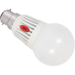Inlight LED 7W Dusk To Dawn Sensor Lamp BC Warm White 420lm A + - 36407 - from Toolstation