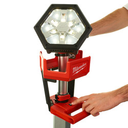 Milwaukee M18SAL-0 18V Li-Ion Rocket LED Tower Light