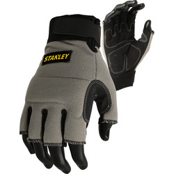 Stanley Stanley Performance Fingerless Gloves Large - 36425 - from Toolstation