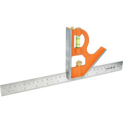 "Bahco Bahco Combination Square 300mm (12"") - 36432 - from Toolstation"