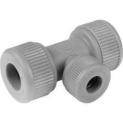 Unbranded Reducing Tee 22 x 22 x 15mm - 36613 - from Toolstation