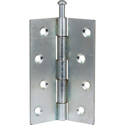 Loose Pin Hinge Zinc 75mm - 36632 - from Toolstation