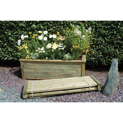 Forest Forest Garden Bamburgh Planter 50cm (h) x 150cm (w) x 50cm (d) - 36638 - from Toolstation