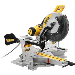 DeWalt DeWalt 305mm Compound Slide Mitre Saw with XPS 240V - 36662 - from Toolstation