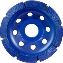 Toolpak Diamond Concrete Grinding Disc 100 x 22mm Single Row - 36681 - from Toolstation