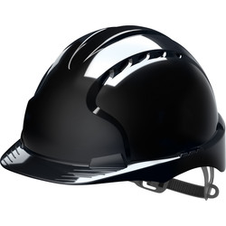 JSP EVO2 Adjustable Safety Helmet Black