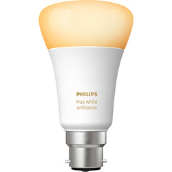Philips Hue Philips Hue White Ambiance Bluetooth Lamp B22/BC - 36833 - from Toolstation