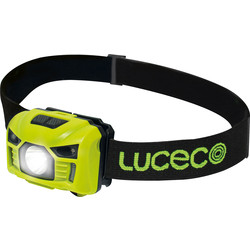 Luceco Luceco Rechargeable PIR Inspection Head Torch 3W 6500K - 36841 - from Toolstation