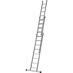 Youngman Youngman Box Section Extension Ladder 3 Section 1.92m - 36960 - from Toolstation