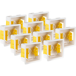 Appleby Dry Lining Boxes 1 Gang 35mm Trade Pack