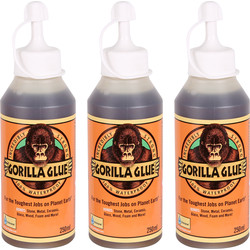Gorilla Glue Gorilla Glue Triple Pack 3 x 250ml - 37088 - from Toolstation