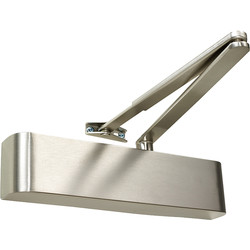 Rutland Rutland TS.5204 Door Closer Satin Nickel Size 2-4, With Cover - 37115 - from Toolstation