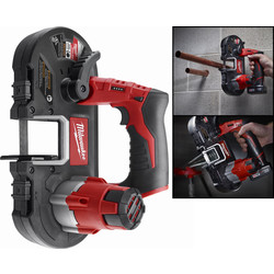Milwaukee M12BS-0 12V Li-Ion Cordless Band Saw Body Only