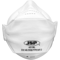 JSP JSP FFP3 SpringFit™ Fold Flat Face Mask  - 37156 - from Toolstation