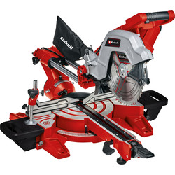 Einhell Einhell 254mm Double Bevel Sliding Mitre Saw 2100W - 37234 - from Toolstation