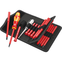 Wera Kompakt VDE Interchangeable Blade Screwdriver Set