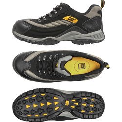 Cat Caterpillar Moor Safety Trainers Size 10 - 37278 - from Toolstation