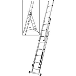 Youngman Youngman Combination Ladder 4 Way 2m - 37719 - from Toolstation