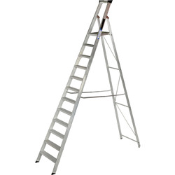 Youngman Youngman Heavy Duty Platform Step Ladder 12 Tread SWH 4.28m - 37767 - from Toolstation