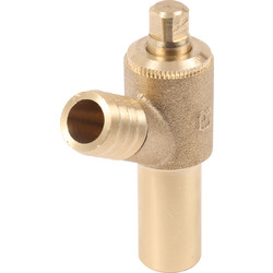 JG Speedfit JG Speedfit Brass Drain Cock 15mm - 37798 - from Toolstation