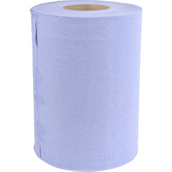 Mini Centre Feed 2 Ply Blue Roll  - 37818 - from Toolstation
