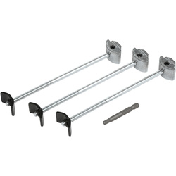 Trend Trend Hex Worktop Connecting ZipBolts 170mm - 37911 - from Toolstation