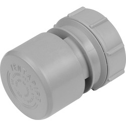 McAlpine McAlpine VP2 Air Admittance Valve Grey - 37923 - from Toolstation