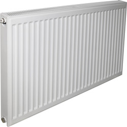 Made4Trade by Kudox Made4Trade by Kudox Type 21 Steel Panel Radiator 600 x 400mm 1818Btu - 37953 - from Toolstation