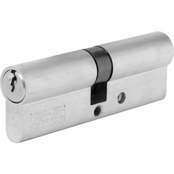 ERA ERA BS 1 Star Euro Cylinder Satin Nickel 45:55 - 37960 - from Toolstation