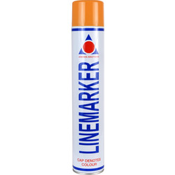 Line Marking Spray Paint 750ml Orange - 37961 - from Toolstation