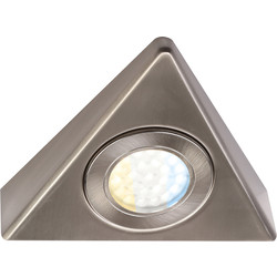Faro 240V LED CCT Triangle Under Cupboard Light 1 x 1.5W 140lm light - 38020 - from Toolstation