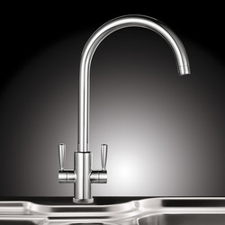 Franke Ascona Mono Mixer Kitchen Tap Chrome