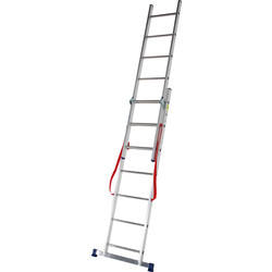 TB Davies TB Davies 3 Way Combination Ladder  - 38185 - from Toolstation