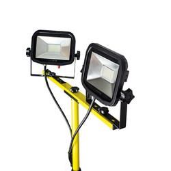 Luceco 110V Twin Head Tripod Work Light