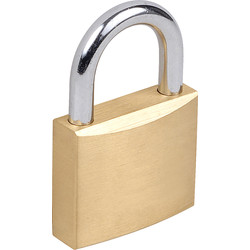 Squire Squire Watchman Brass Padlock 30 x 5 x 17mm - 38266 - from Toolstation