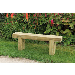 Forest Garden Sleeper Bench
