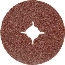 Toolpak Fibre Sanding Disc 115mm 36 Grit - 38318 - from Toolstation