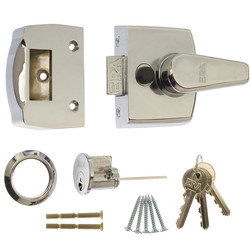 Era ERA Replacement Nightlatch Door Lock 40mm Polished Chrome - 38356 - from Toolstation
