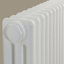 Arlberg Arlberg 3-Column Vertical Radiator 2000 x 394mm 4992Btu White - 38358 - from Toolstation