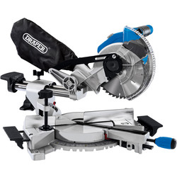 Draper Draper D20 20V Brushless 185mm Sliding Compound Mitre Saw Body Only - 38419 - from Toolstation