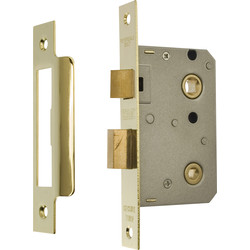 ERA ERA Bathroom Sashlock Brass 76mm - 38484 - from Toolstation