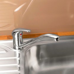 Ebb + Flo Filey Mono Mixer Kitchen Tap
