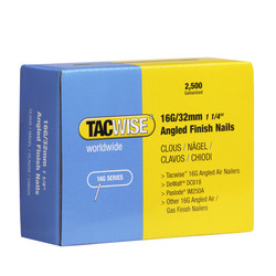 Tacwise 16 Gauge Angled Finish Nails