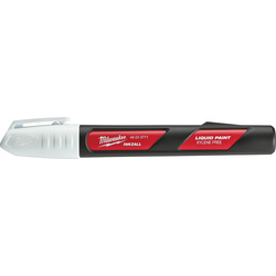 Milwaukee Milwaukee Inkzall Liquid Paint Marker White - 38655 - from Toolstation