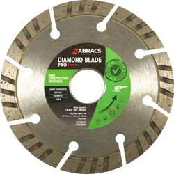 Abracs Abracs Specialist Diamond Blade HCM Pro 115 x 22mm - 38690 - from Toolstation