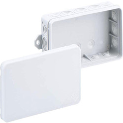 Unbranded Junction Box IP55 With 5 x 2.5mm2 Terminals Interlocking - 38834 - from Toolstation